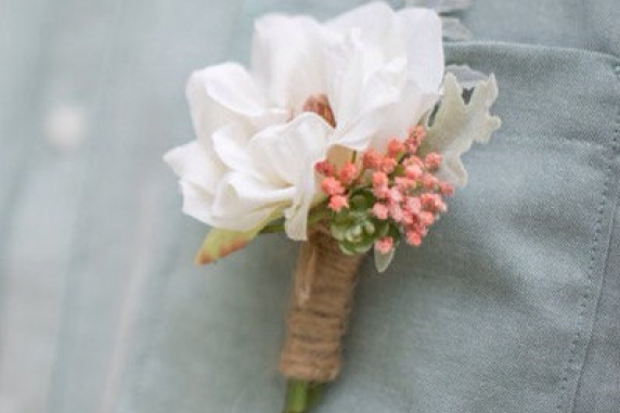Wedding boutonniere