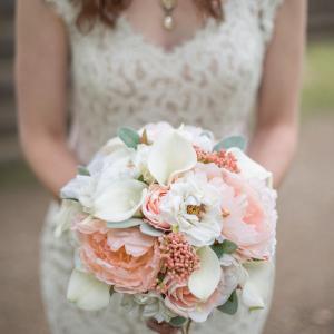 Silk flower Weddings