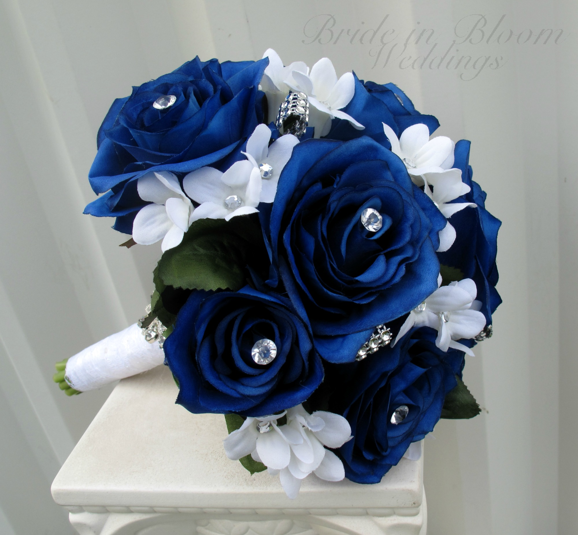 Wedding Bouquets Blue Roses | www.imgkid.com - The Image ...