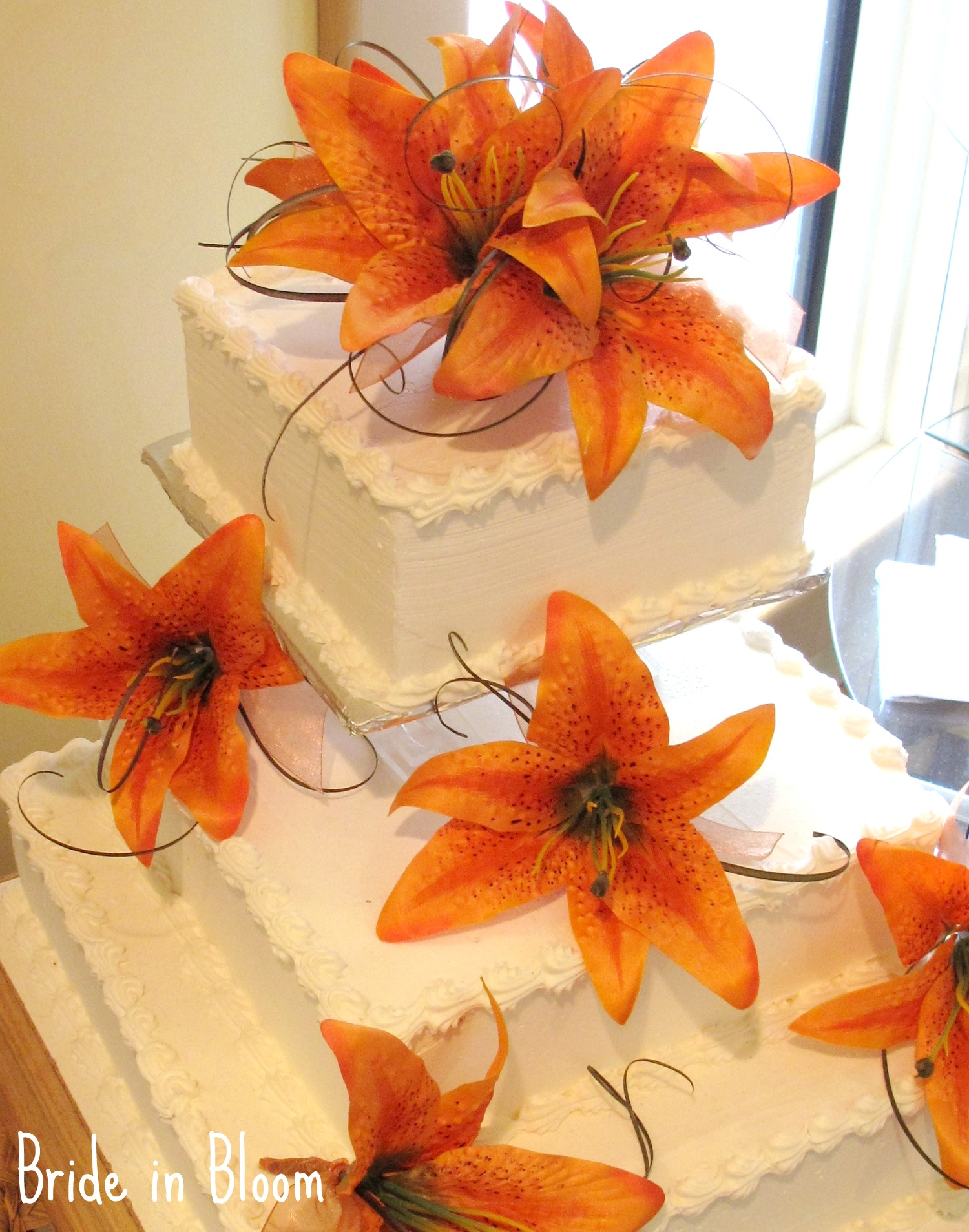 Tiger Lily Cake Topper